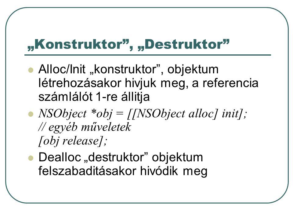"""""""Konstruktor , """"Destruktor"""