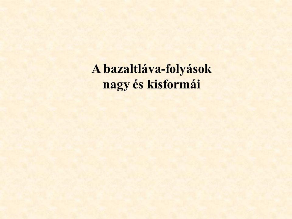 A bazaltláva-folyások
