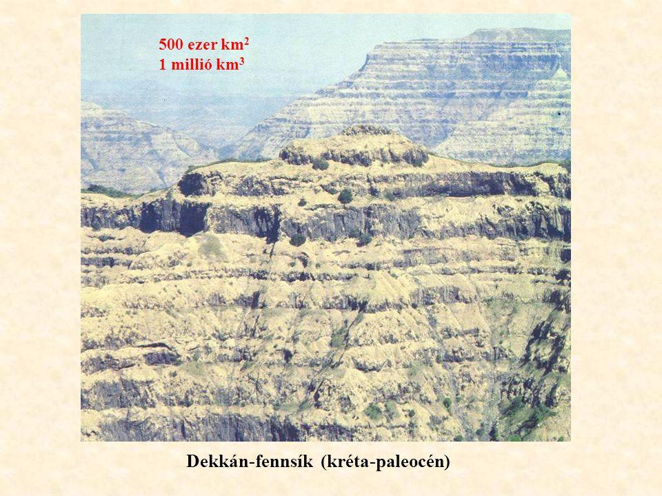 Dekkán-fennsík (kréta-paleocén)
