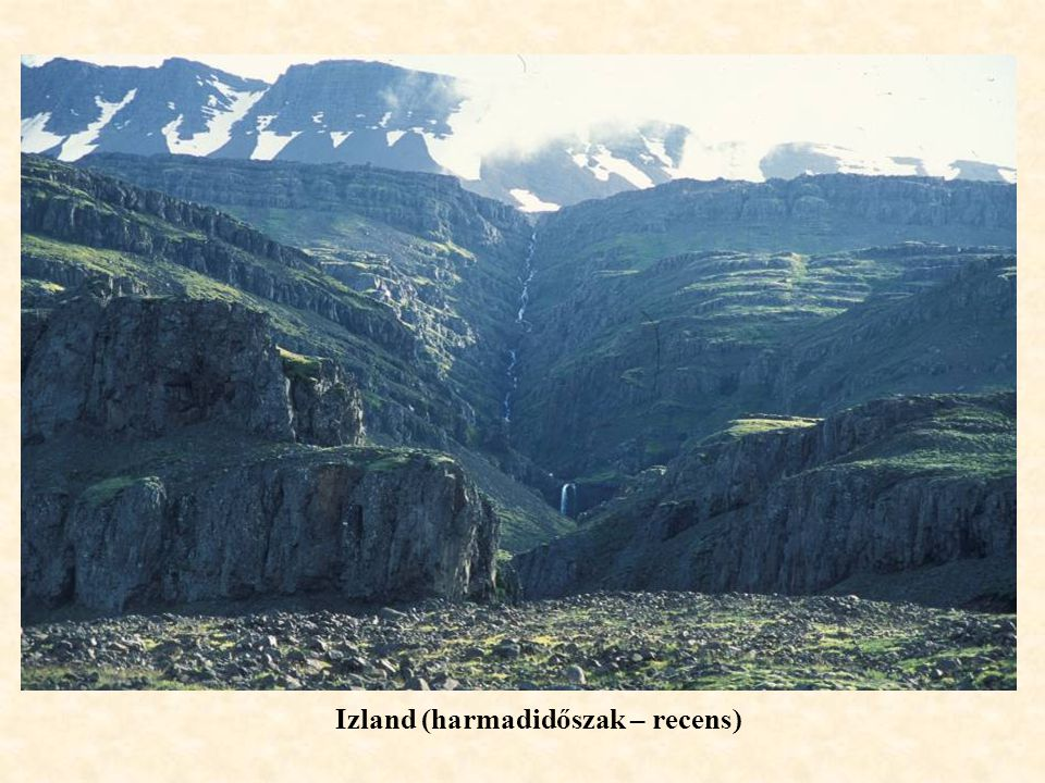 Izland (harmadidőszak – recens)
