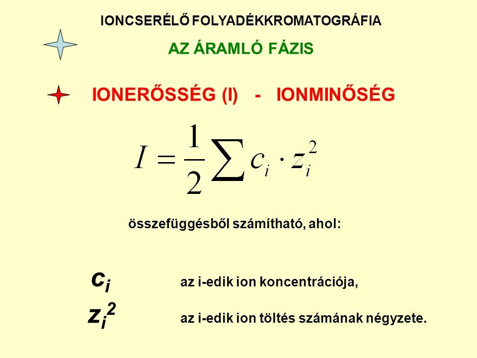 IONERŐSSÉG (I) - IONMINŐSÉG