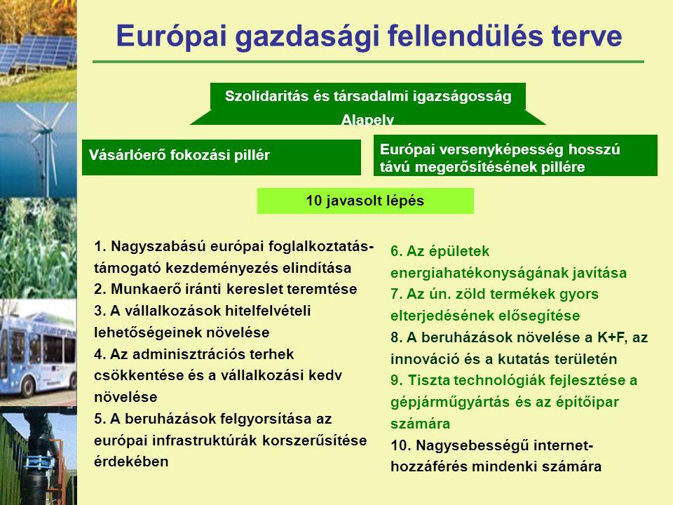 Európai gazdasági fellendülés terve