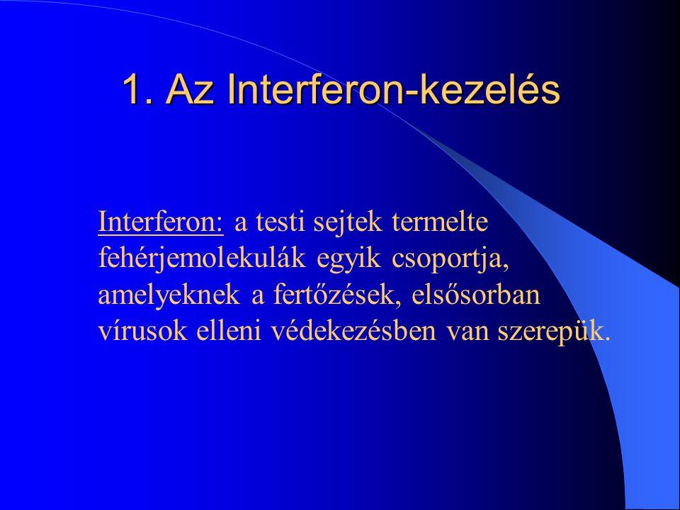 1. Az Interferon-kezelés