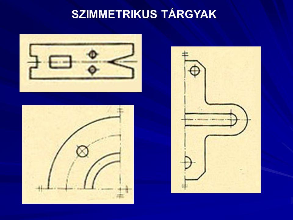 SZIMMETRIKUS TÁRGYAK