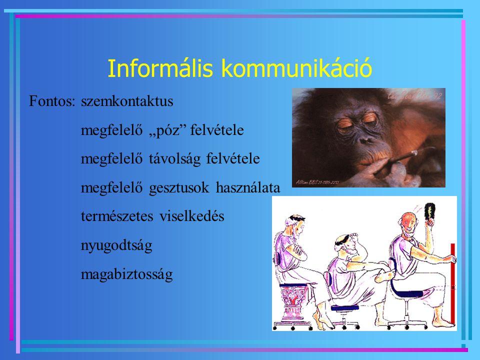 Informális kommunikáció