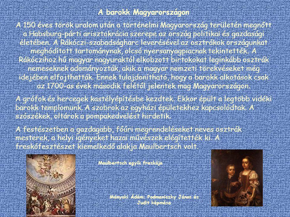 A barokk Magyarországon