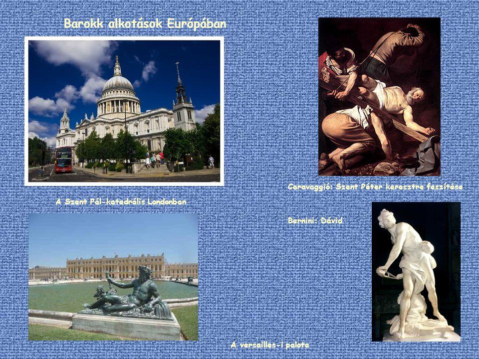 Barokk alkotások Európában