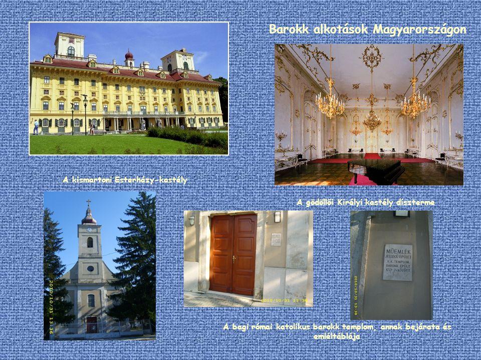 Barokk alkotások Magyarországon