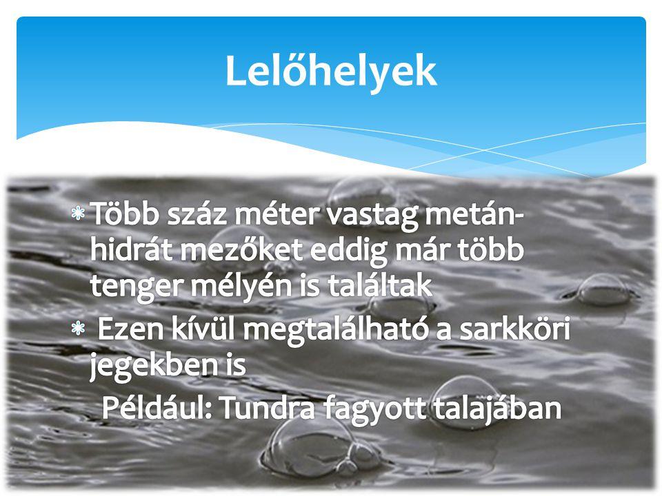 Például: Tundra fagyott talajában