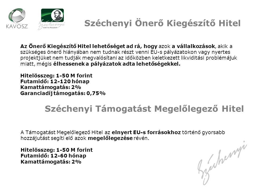 Széchenyi Önerő Kiegészítő Hitel
