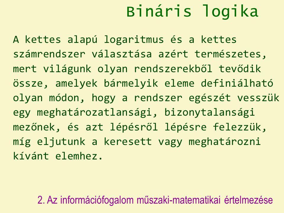 Bináris logika