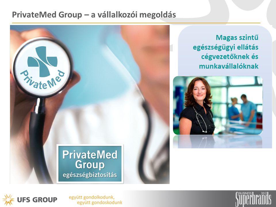 PrivateMed Group – a vállalkozói megoldás