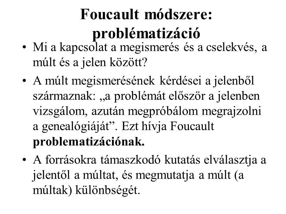 Foucault módszere: problématizáció