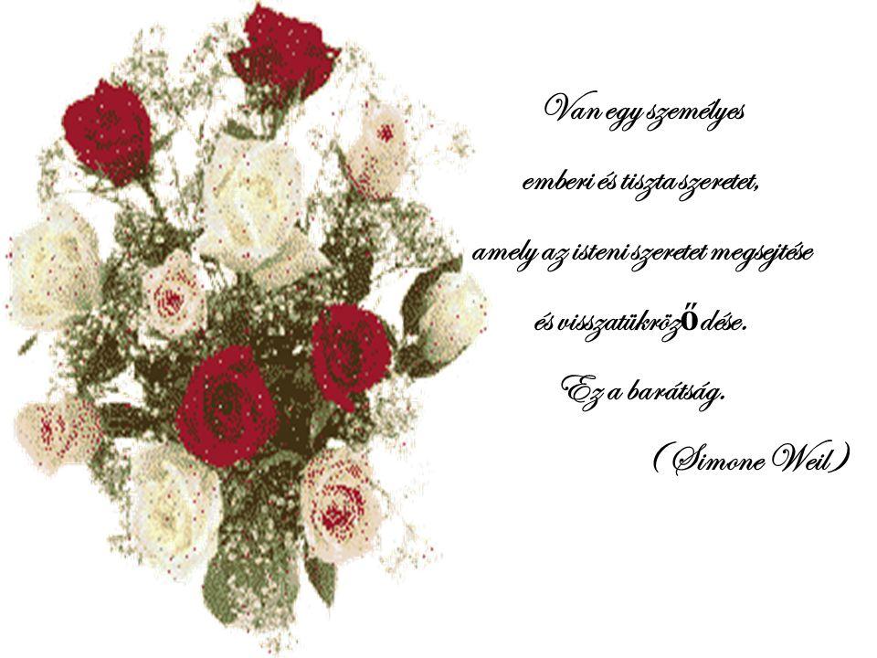 emberi és tiszta szeretet, amely az isteni szeretet megsejtése