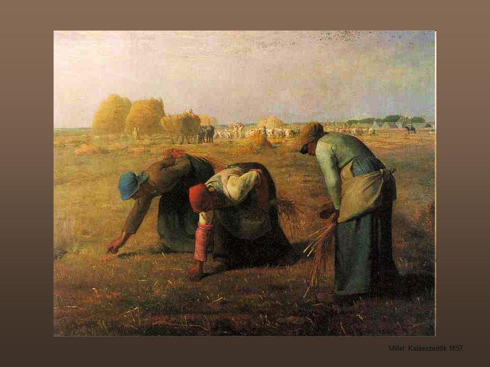Millet: Kalásszedők 1857