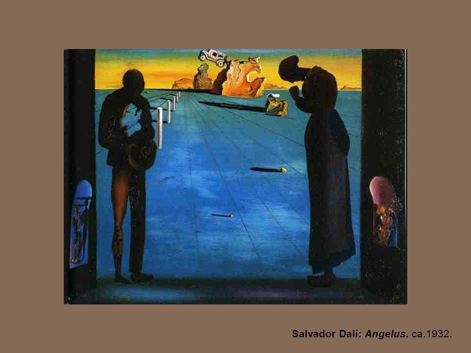 Salvador Dalí: Angelus. ca.1932.