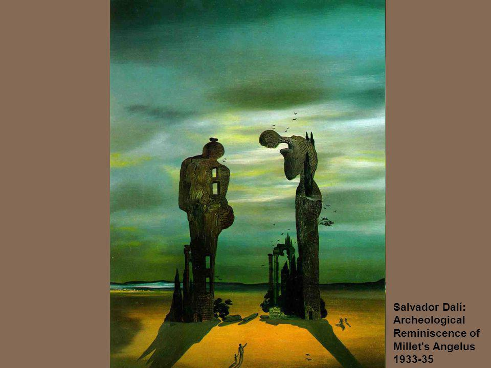 Salvador Dalí: Archeological Reminiscence of Millet s Angelus