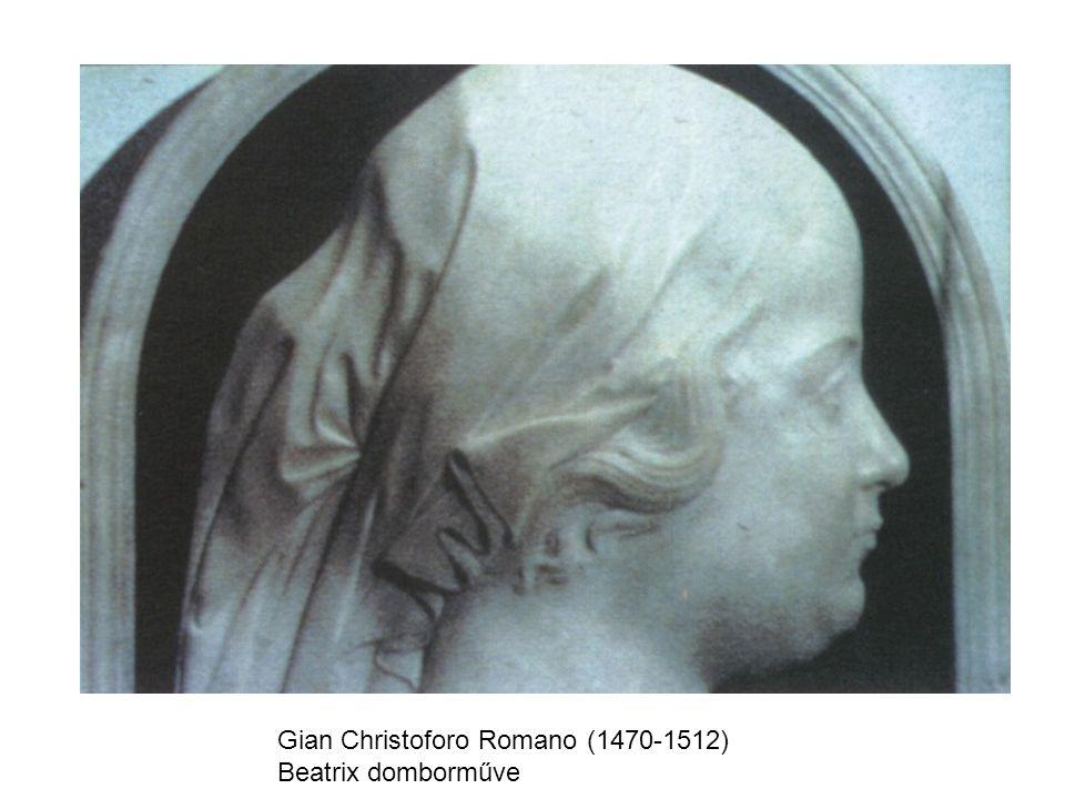 Gian Christoforo Romano (1470-1512) Beatrix domborműve