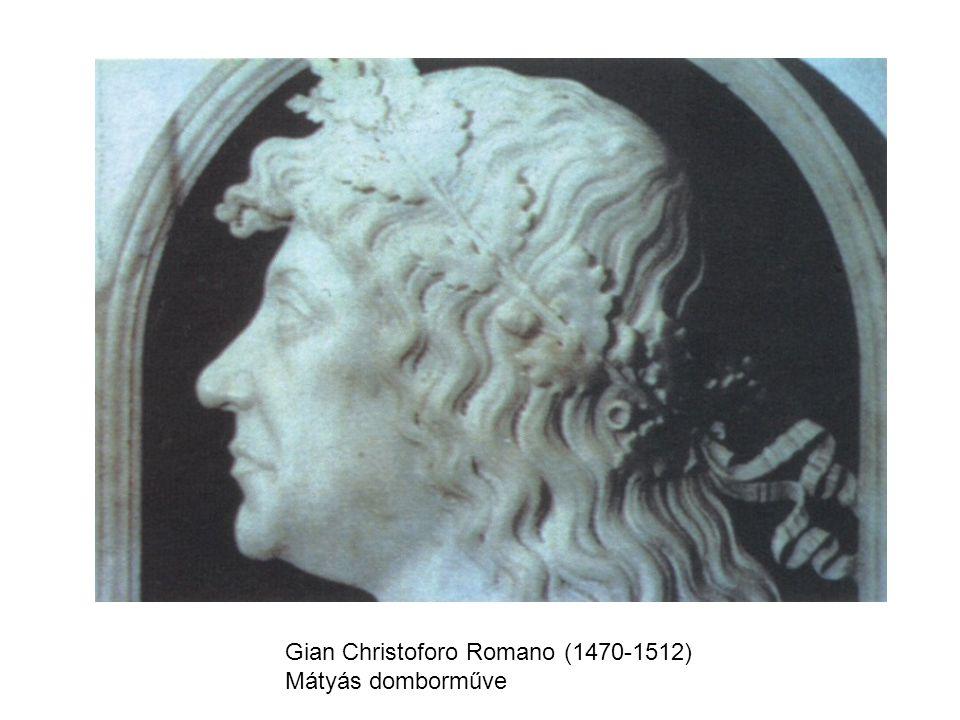 Gian Christoforo Romano (1470-1512) Mátyás domborműve