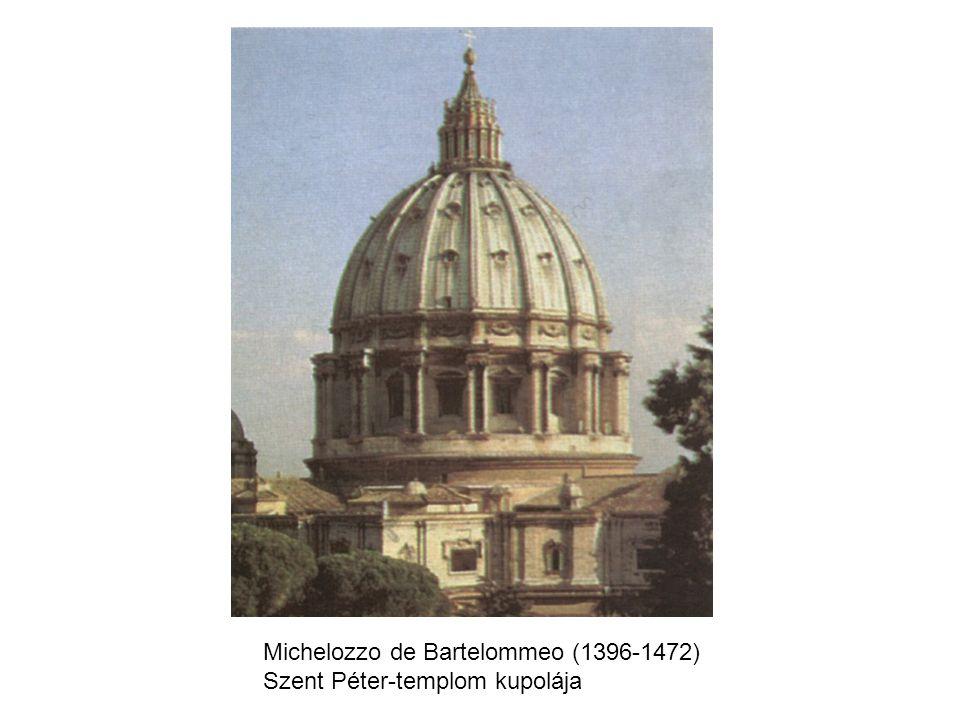 Michelozzo de Bartelommeo (1396-1472) Szent Péter-templom kupolája