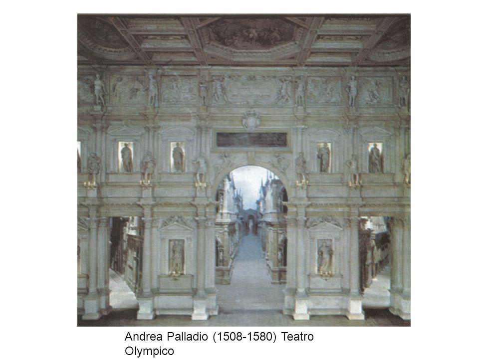 Andrea Palladio (1508-1580) Teatro Olympico