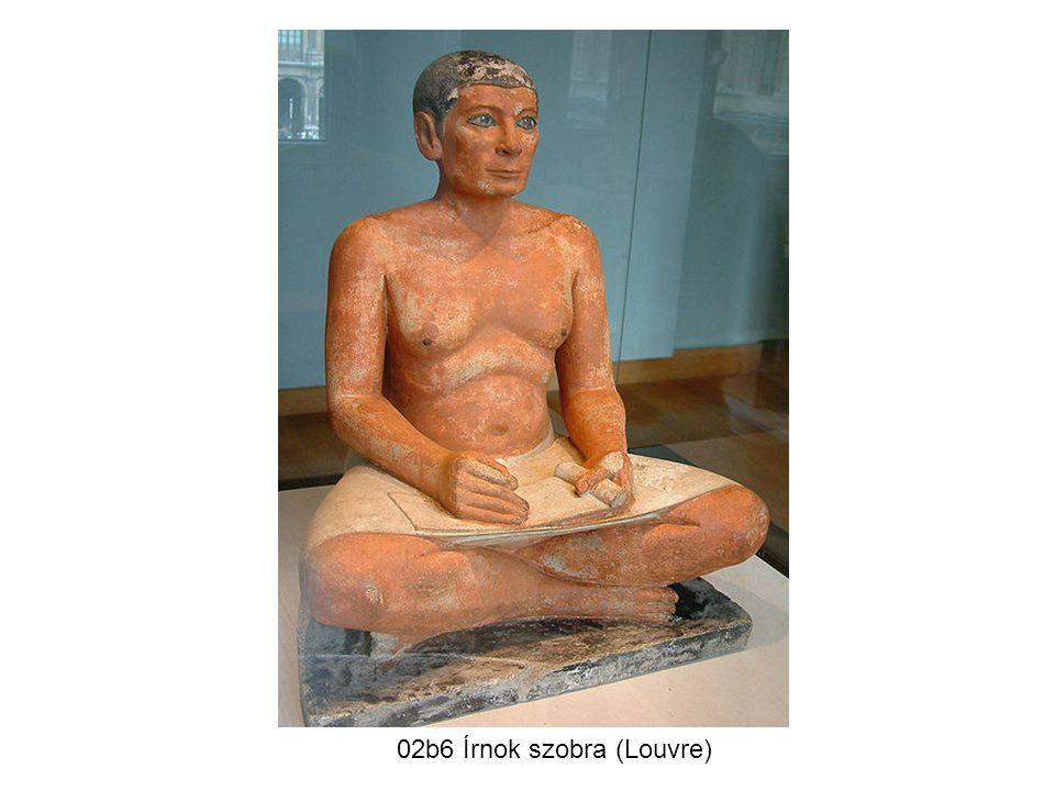 02b6 Írnok szobra (Louvre)