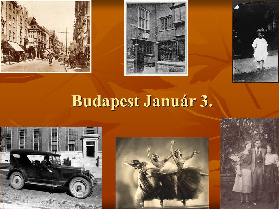 Budapest Január 3.