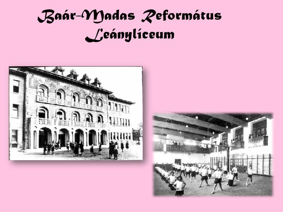 Baár-Madas Református Leánylíceum