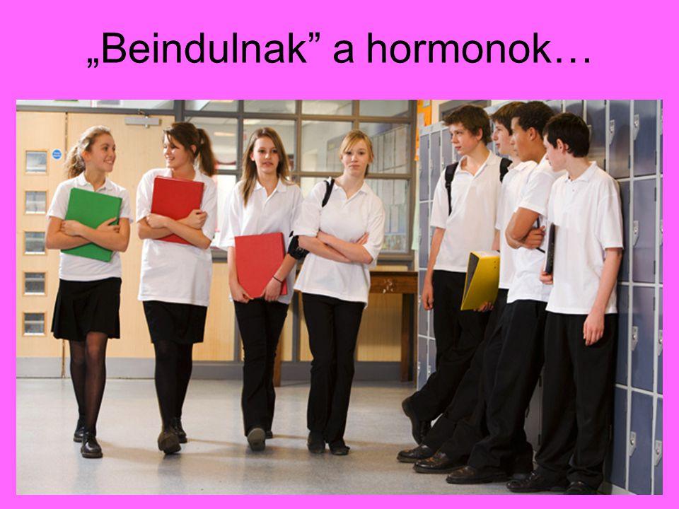 """""""Beindulnak a hormonok…"""