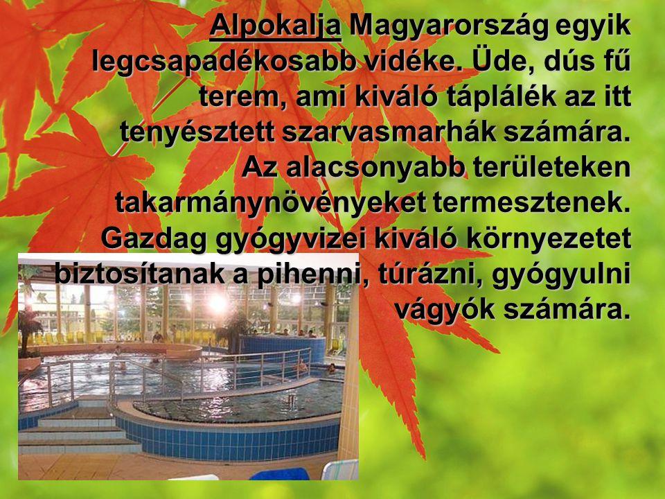 Alpokalja Magyarország egyik legcsapadékosabb vidéke