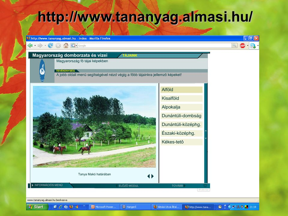 http://www.tananyag.almasi.hu/