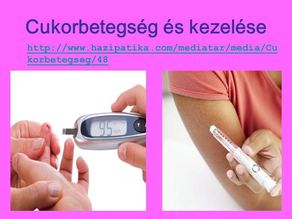 Cukorbetegség és kezelése