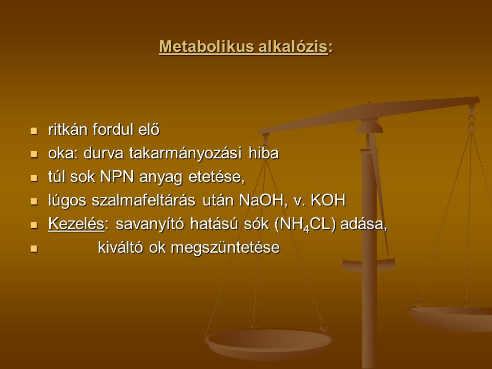 Metabolikus alkalózis: