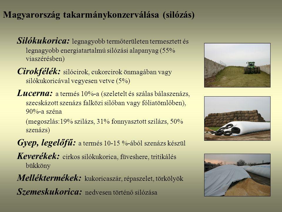 Magyarország takarmánykonzerválása (silózás)
