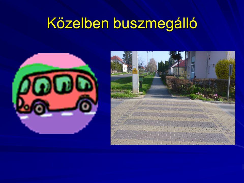 Közelben buszmegálló