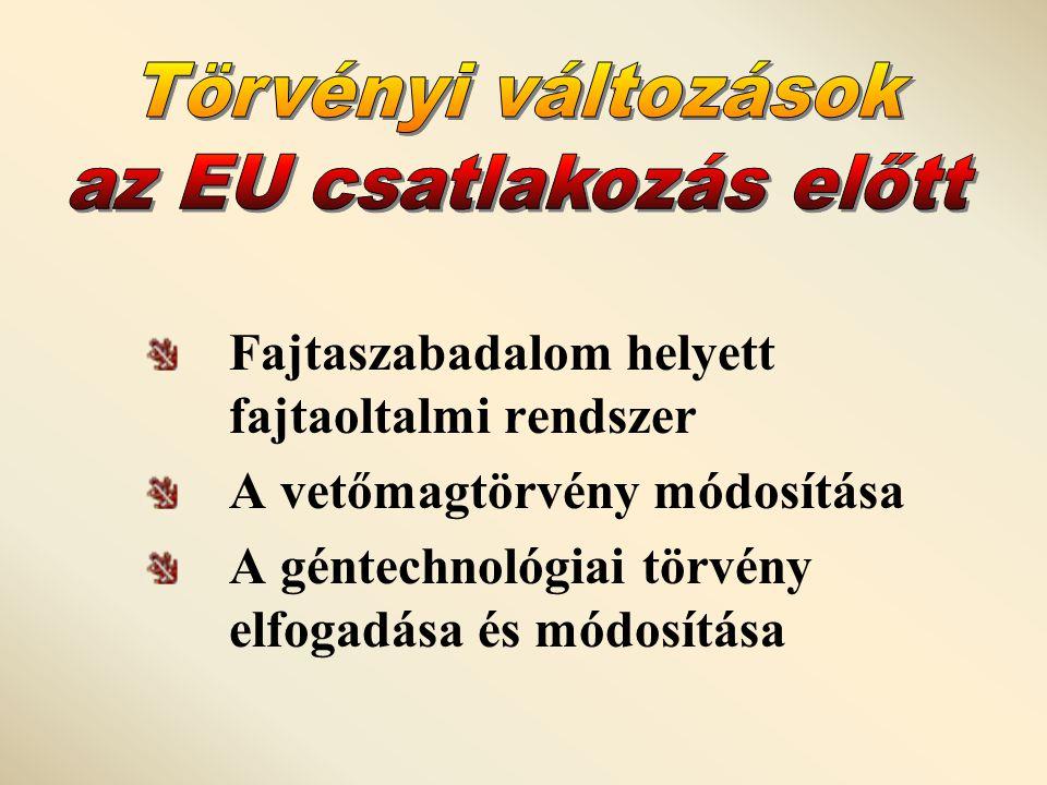 az EU csatlakozás előtt