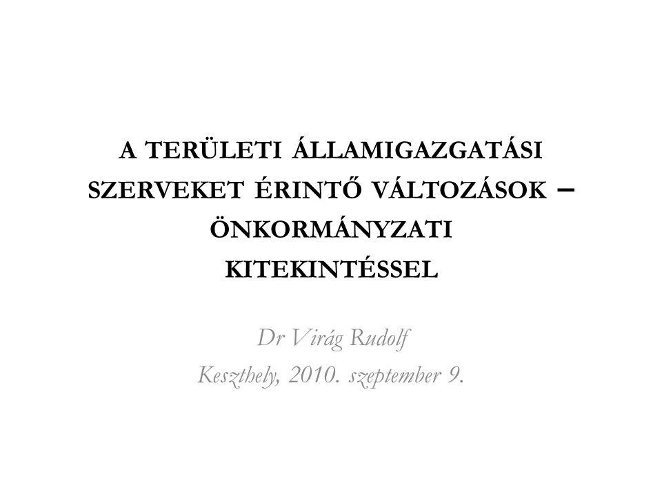 Dr Virág Rudolf Keszthely, 2010. szeptember 9.
