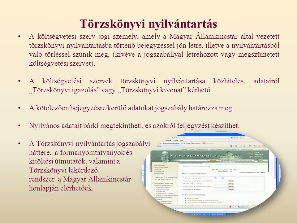 Törzskönyvi nyilvántartás
