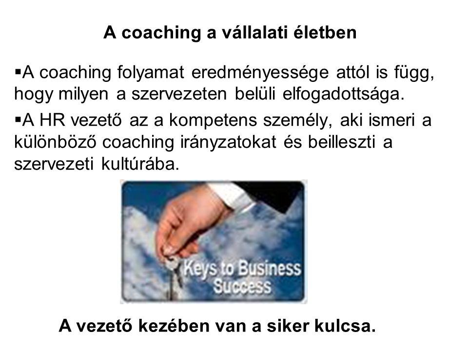 A coaching a vállalati életben