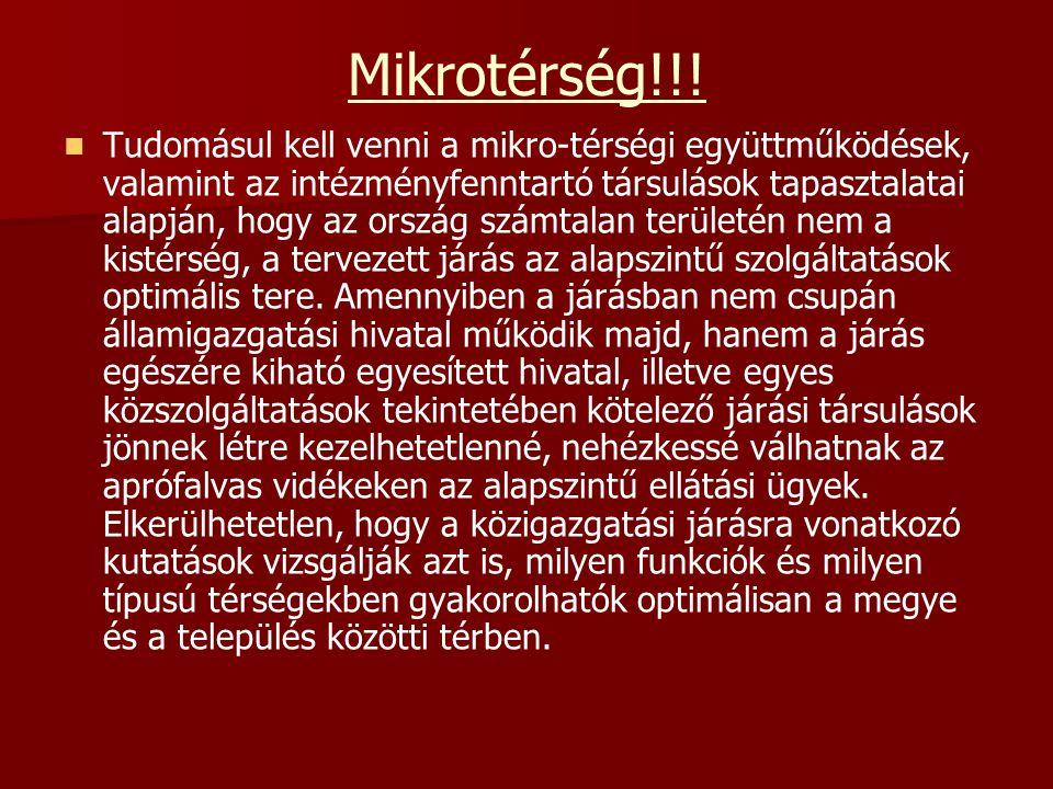 Mikrotérség!!!