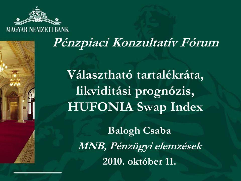 Balogh Csaba MNB, Pénzügyi elemzések 2010. október 11.