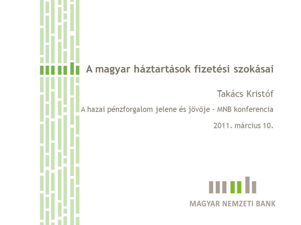 A magyar háztartások fizetési szokásai