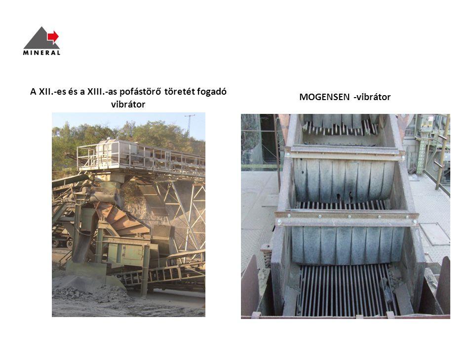 A XII.-es és a XIII.-as pofástörő töretét fogadó vibrátor