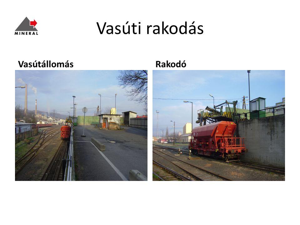 Vasúti rakodás Vasútállomás Rakodó