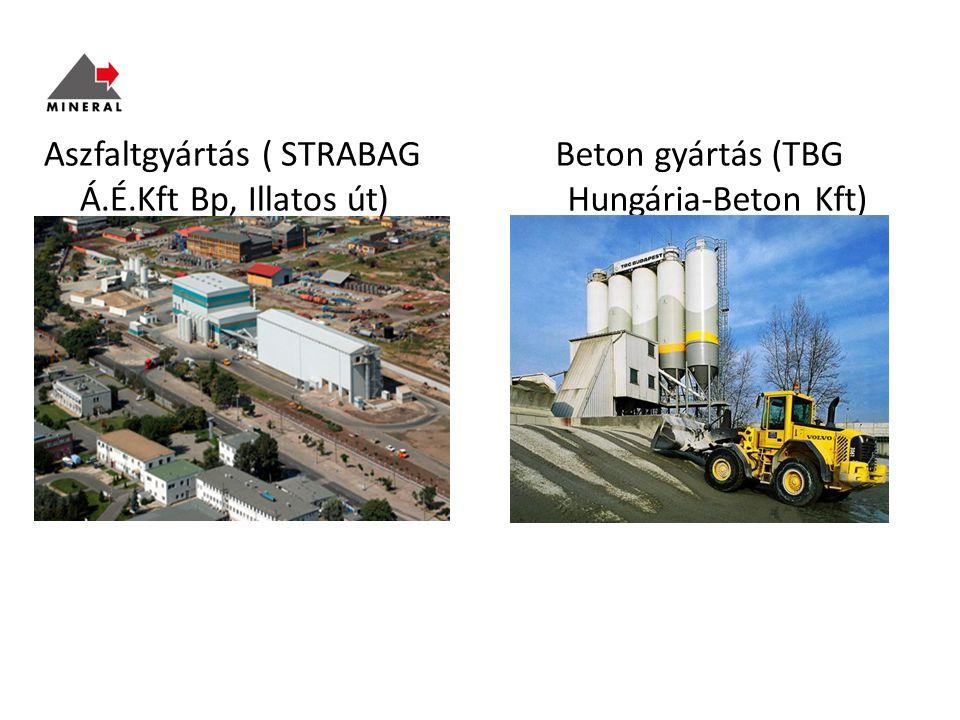 Beton gyártás (TBG Hungária-Beton Kft) Mohács