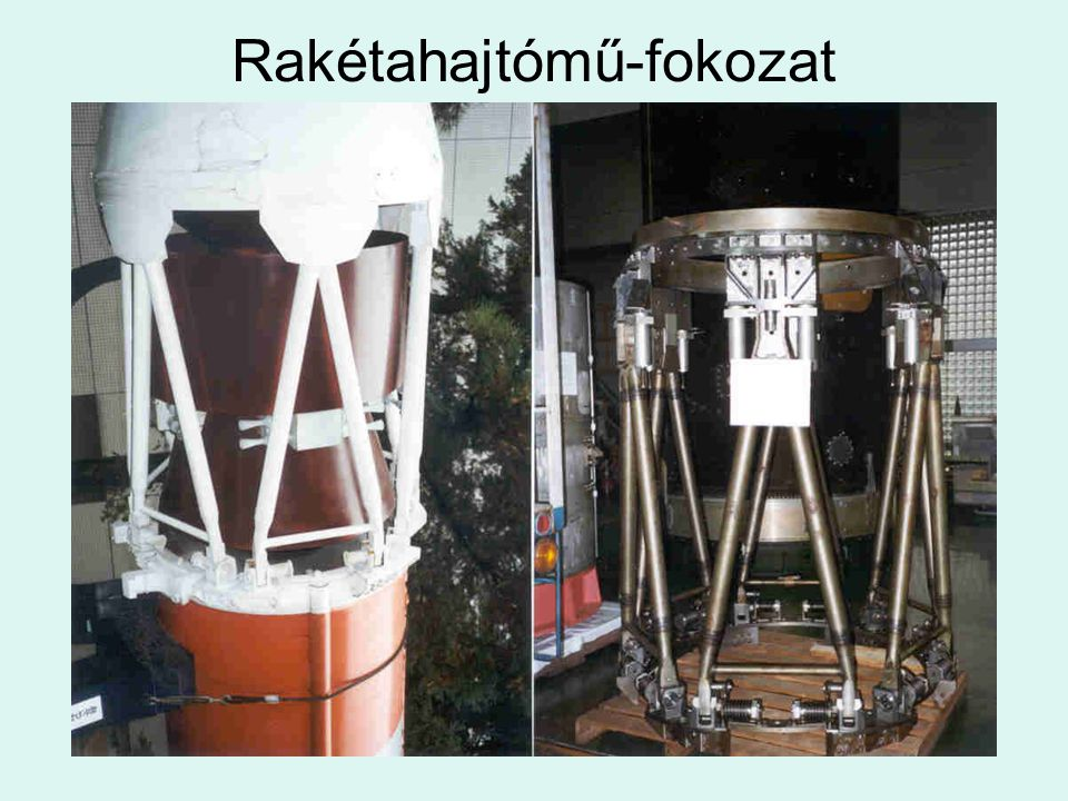 Rakétahajtómű-fokozat