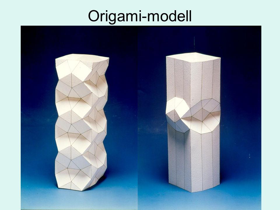 Origami-modell