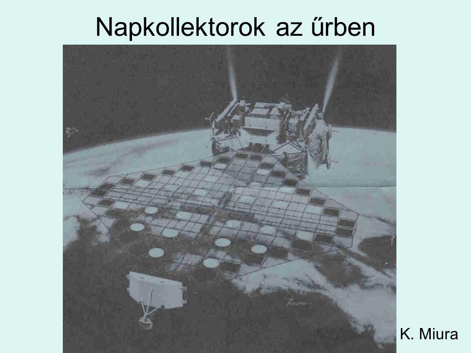 Napkollektorok az űrben