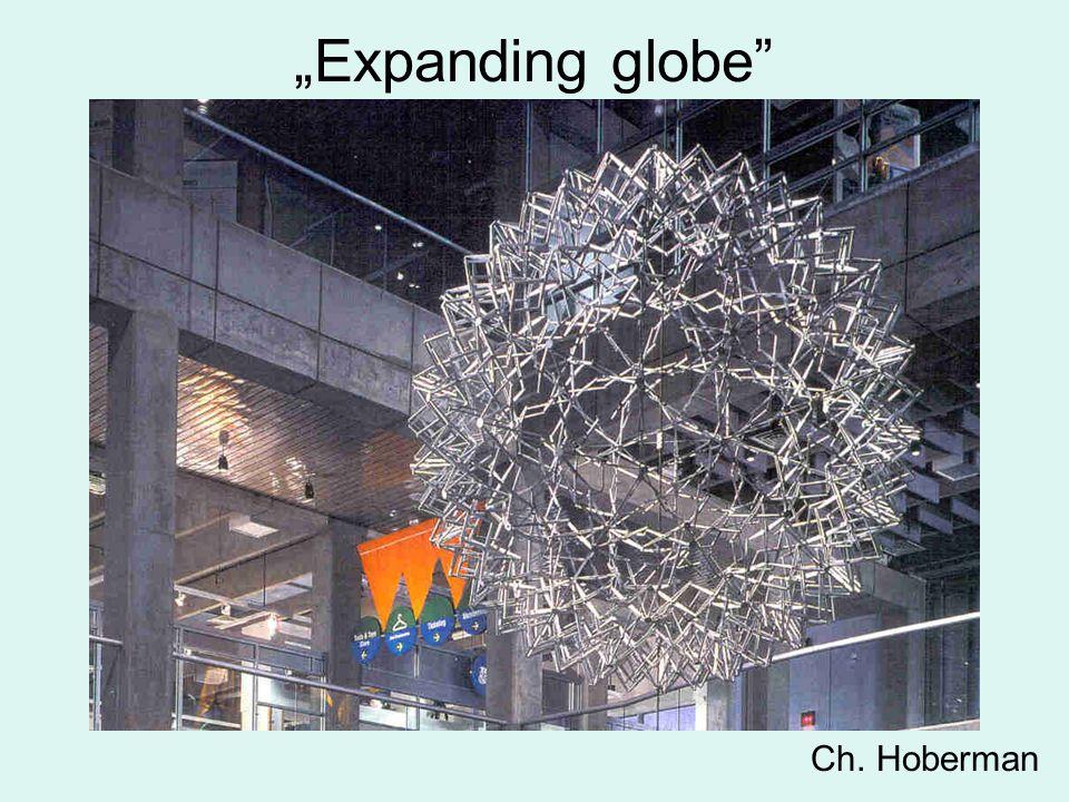 """""""Expanding globe Ch. Hoberman"""