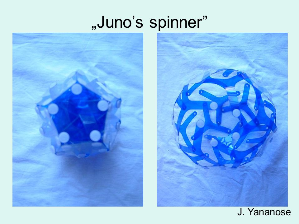 """Juno's spinner J. Yananose"